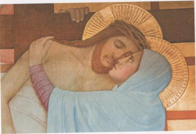 Fresque de jan verkade eglise des carmelites de vienne 2