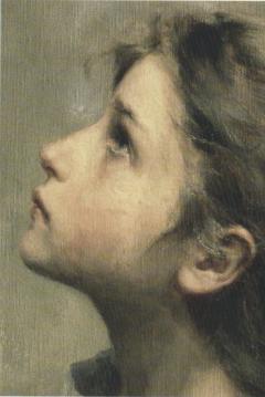 Petite fille de roberto ferruzzi 1853 1934